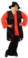 Black & Red Hippie Costume
